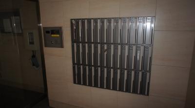 ダイヤル式のメールBOX