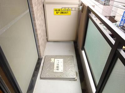 【バルコニー】ルーブル中野南台