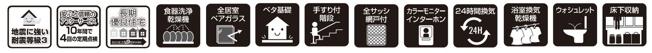 【設備】広々LDK20帖