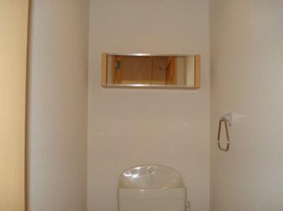 トイレ収納♪