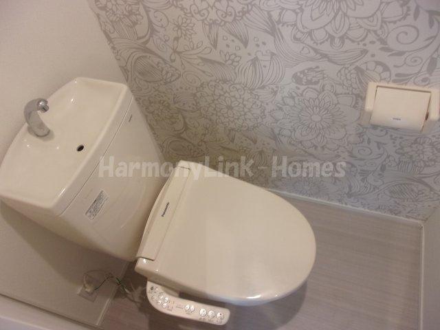 モアナの落ち着いた色調のトイレです