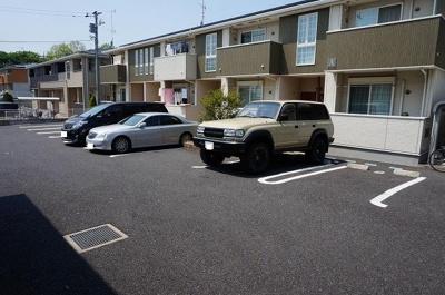 【駐車場】アンソレイユB棟
