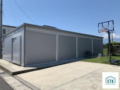 【駐車場】甲府市上町 中古住宅