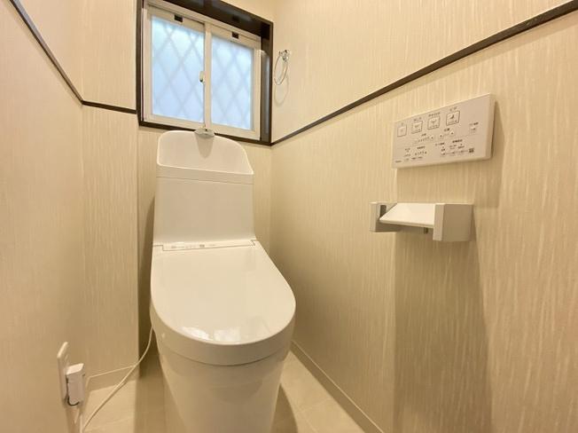 【トイレ】橿原市中曽司町 リフォーム戸建