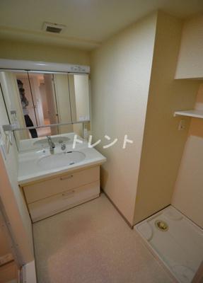【洗面所】ガラグランディ西新宿