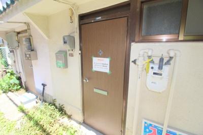 【玄関】蛍池南町2丁目テラスハウス