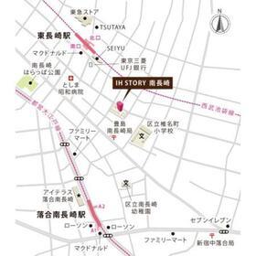 【地図】IH STORY 南長崎 ~アイエイチストーリーミナミナガサキ~