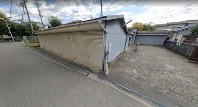 【外観】庄内幸町シャッター付きガレージ