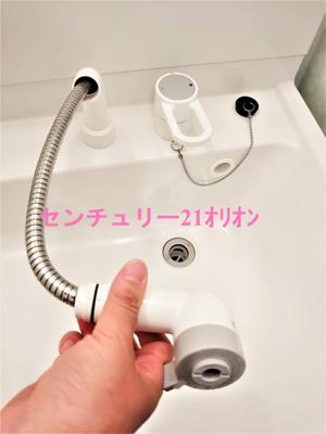 【洗面所】エムズ富士見台(フジミダイ)-1F