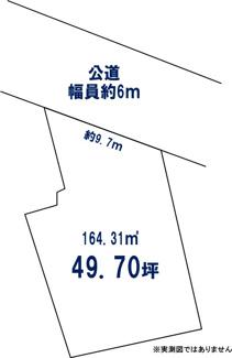 【土地図】横浜市鶴見区下末吉6丁目 売地