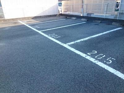 【駐車場】レジダンス・アンソレイエ