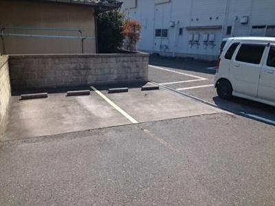【駐車場】白樫ハイツ
