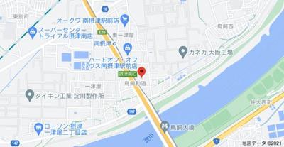 【地図】メゾン・アゼリア