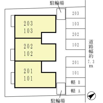 【区画図】パインズコート