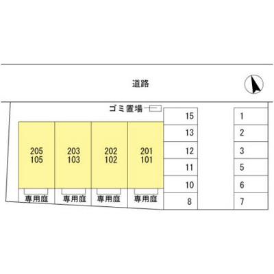 【区画図】ルーチェ木ノ本