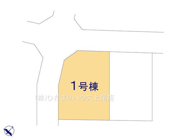 【区画図】西区佐知川 11期 新築一戸建て ハートフルタウン 01