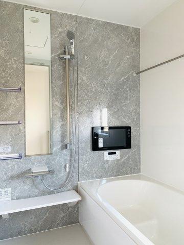 【同仕様施工例】雨の日のお洗濯もノンストレスの浴室乾燥機つき!