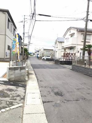 【前面道路含む現地写真】久留米市津福本町