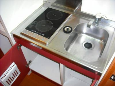 【キッチン】レオパレスシャンテB