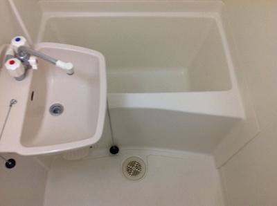 【浴室】レオパレスソレアード