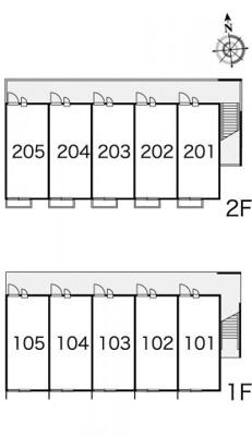 【区画図】レオパレスコージーコート