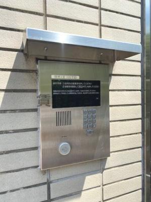 【セキュリティ】メゾン・ド・ヴィレ大阪城公園前 仲介手数料無料