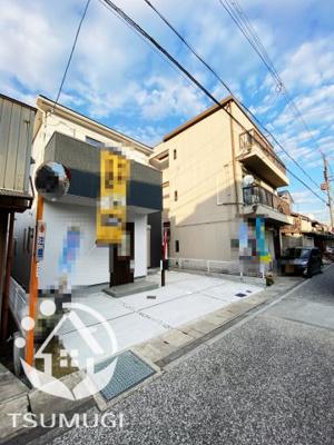 【前面道路含む現地写真】亀岡市第1塩屋町 新築戸建