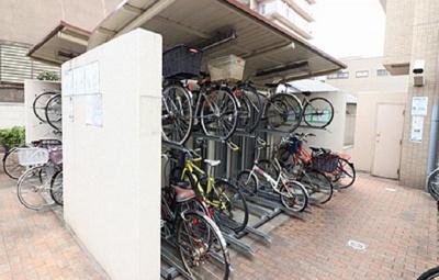 【駐輪場】サンヴェール大阪城公園