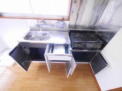 【キッチン】第3倉田ハイツ