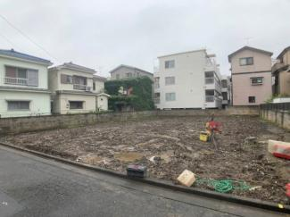 【前面道路含む現地写真】新築一戸建 川崎市中原区苅宿 2号棟