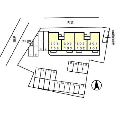 【区画図】ロワジール