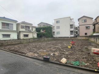 【前面道路含む現地写真】新築一戸建 川崎市中原区苅宿 1号棟