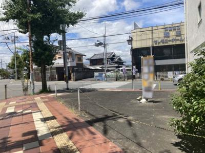 【外観】亀岡 追分町藪ノ下 建築条件無し売土地