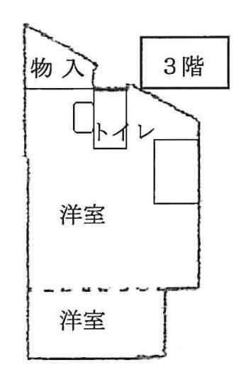 3階の間取り~洋室と収納