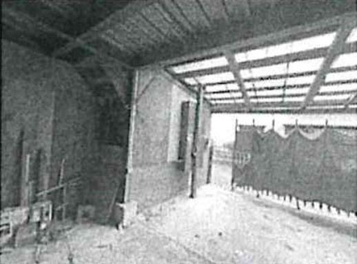 1階の倉庫部分
