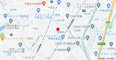 【地図】メモリーハイツ
