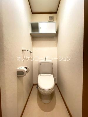 【トイレ】ヴィラ・ポポラーレⅡ