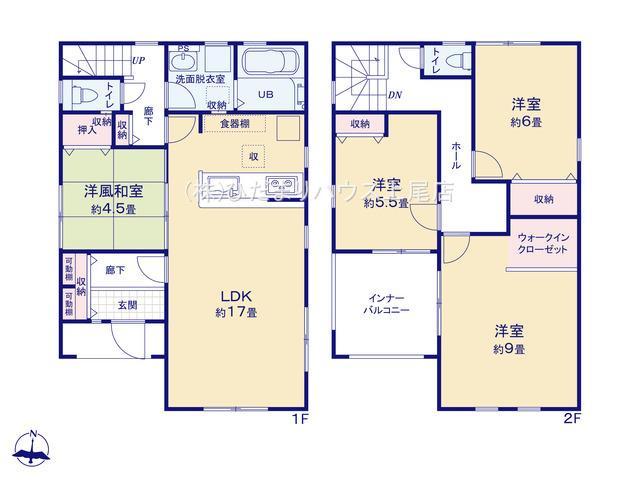 伊奈町内宿台 第2 新築一戸建て リーブルガーデン 01