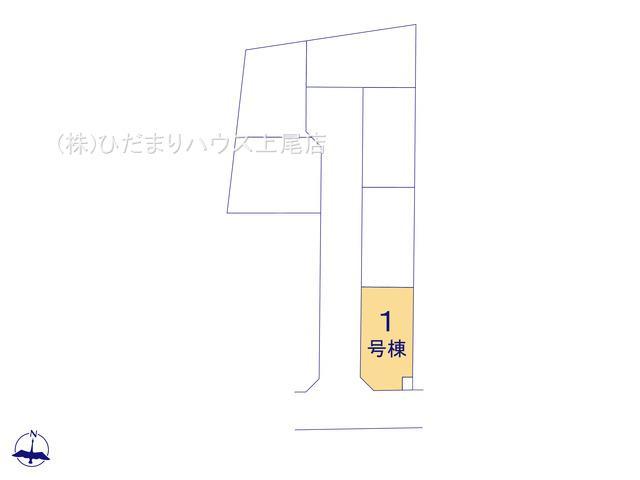 【区画図】伊奈町内宿台 第2 新築一戸建て リーブルガーデン 01