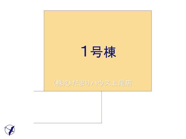 【区画図】桶川市坂田西 新築一戸建て グラファーレ 01