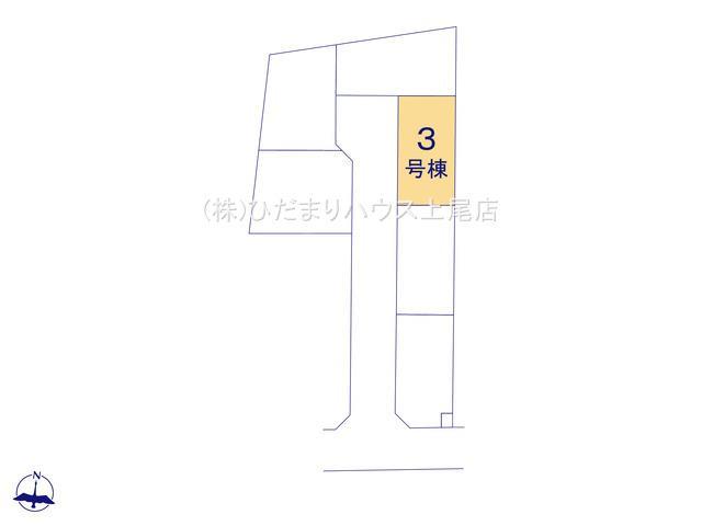 【区画図】伊奈町内宿台 第2 新築一戸建て リーブルガーデン 03