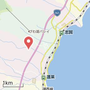 【地図】八屋戸 貸家