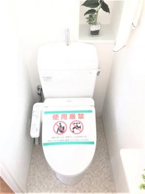 【トイレ】プレファシオ阿倍野美章園