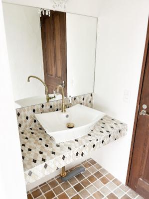 2階 手洗い場