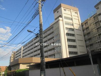 【外観】日商岩井新小岩マンション 8階 最 上階 リ ノベーション済