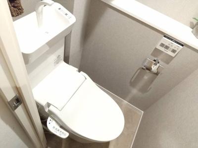 【トイレ】日商岩井新小岩マンション 2階 リ ノベーション済