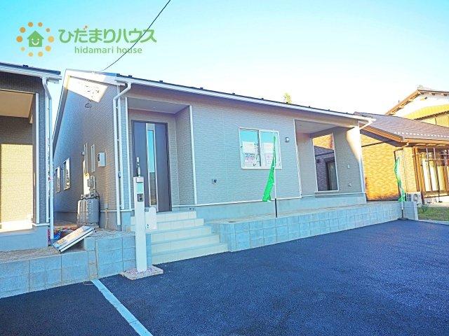 【前面道路含む現地写真】阿見町曙第4 新築戸建 1号棟