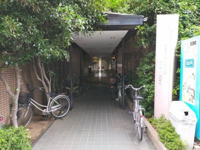 マンション入口です。
