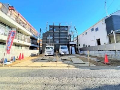 【外観】練馬区旭丘1丁目 建築条件付き売地全2区画
