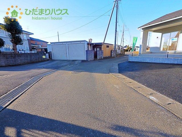 【前面道路含む現地写真】阿見町曙第4 新築戸建 3号棟
